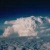 Storm as seen from 41000 feet