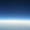 The Moon at 41000ft.