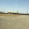 An older 747 being parted out in Jeddah.