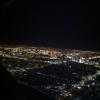 Approaching Las Vegas from the North East.